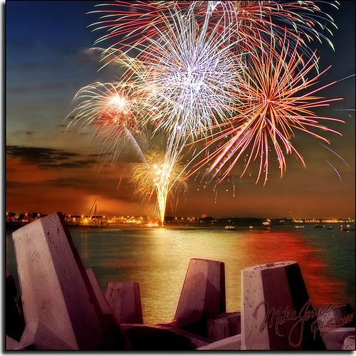 Top 10 best fire works shows in the USA on the 4th of July.