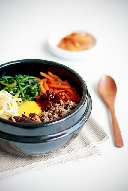 Bibimbap 비빔밥 by bossacafez, via Flickr