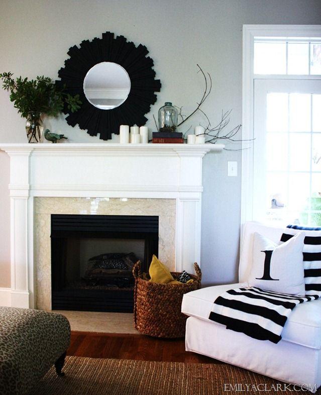 Simple Mantel Ideas: 24 Best Images About Fireplace Mantel Ideas On Pinterest