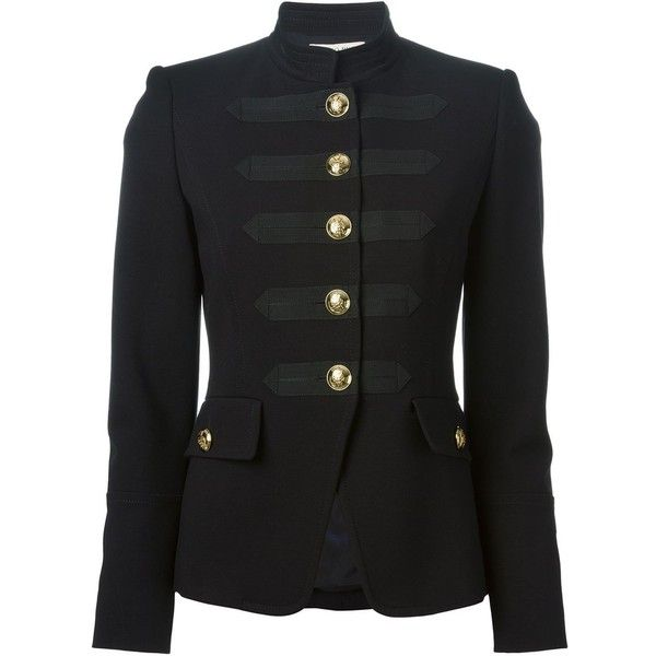 EMILIO PUCCI military style jacket found on Polyvore