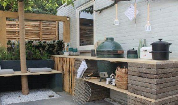 Im Freien leben mit diesen 16 Ideen für Terrassen, Überdachungen und Außenküchen! - DIY Bastelideen