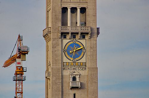 Munich Juin 2013 - 134 au bord de l'ISAR, Windmesser