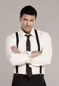 David Boreanaz. There is just something about those suspenders that make me want to rip them off ;)