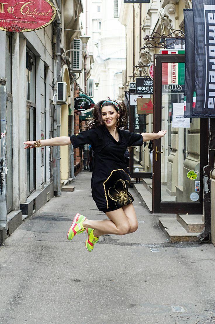Mathilde - urban chic, in pictorialul din luna Mai al revistei TABU