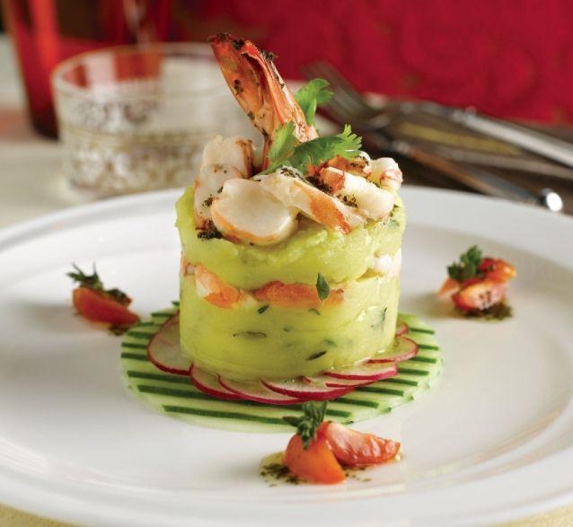 Mashed Potato And Shrimp Timbale Fine Dining Pinterest