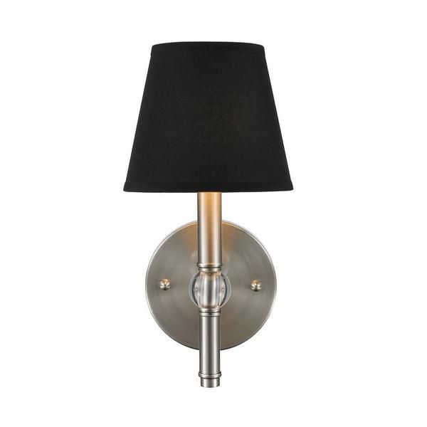 Free Shipping. Purchase the Waverly Wall Sconce with Brass Finish and Silken Parchment Shade for your hallway lighting today at lightingconnection.com. Golden Lighting 3500-1 W AB-PMT