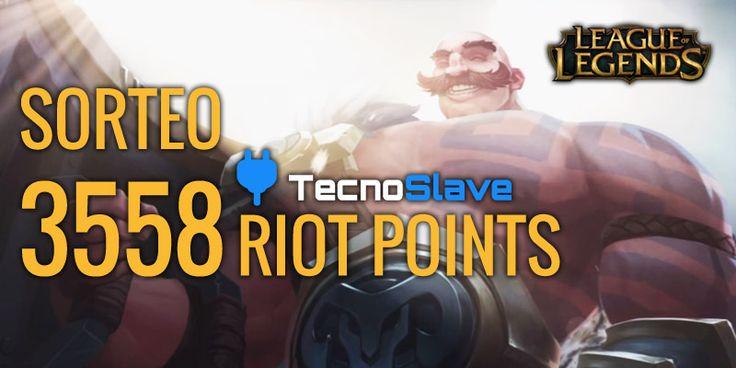 Sorteo de 3558 Riot Points League of Legends