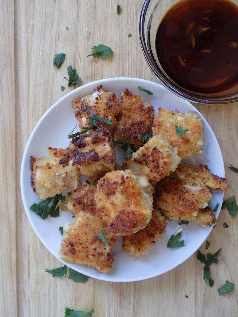 Μπουκιές μελιτζάνας με sauce μελιού / Eggplant bites with honey sauce http://pepiskitchen.blogspot.gr/2016/08/blogrecipes-no12.html