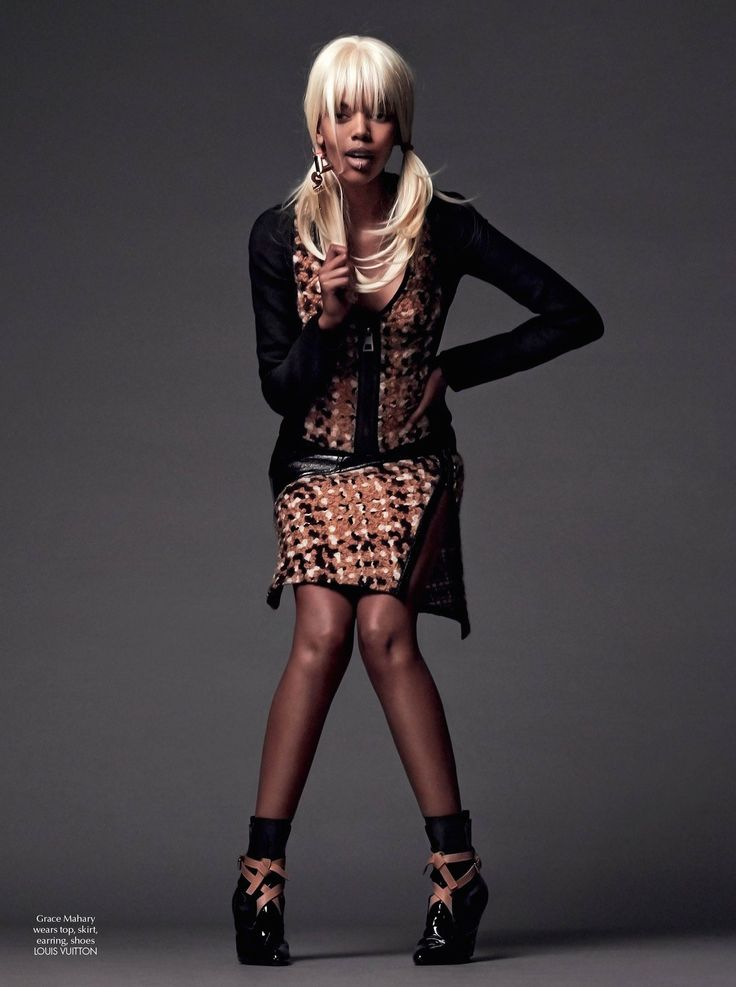 #GraceMahary by #JohnnyDufort for #CRFashionBook #5 F/W 2014-2015