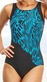 Mastectomy Swimsuit 'Sumatra Bias Cut One Piece' - Mastectomy Lingerie and More - Canada's Online Mastectomy Shop - www.mlam.ca