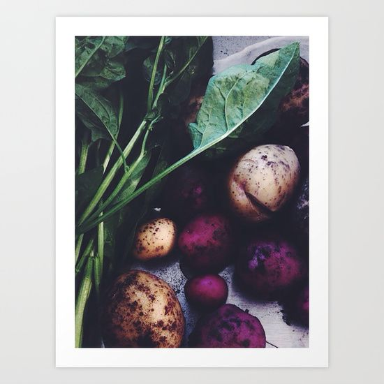 Buy Eat your Veggies by MAJA as a high quality Art Print. Worldwide shipping available at Society6.com. Just one of millions of products available.