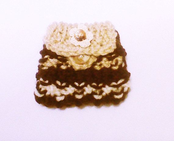 Hey, I found this really awesome Etsy listing at https://www.etsy.com/listing/178899813/brown-knit-coin-pouch-small-knit-purse