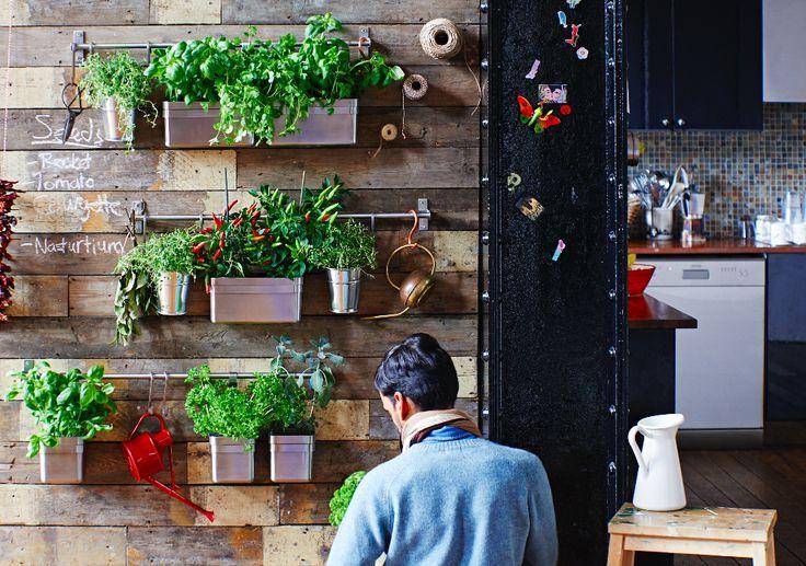 Um jardim para cuidar. #decoração #jardim #IKEAPortugal