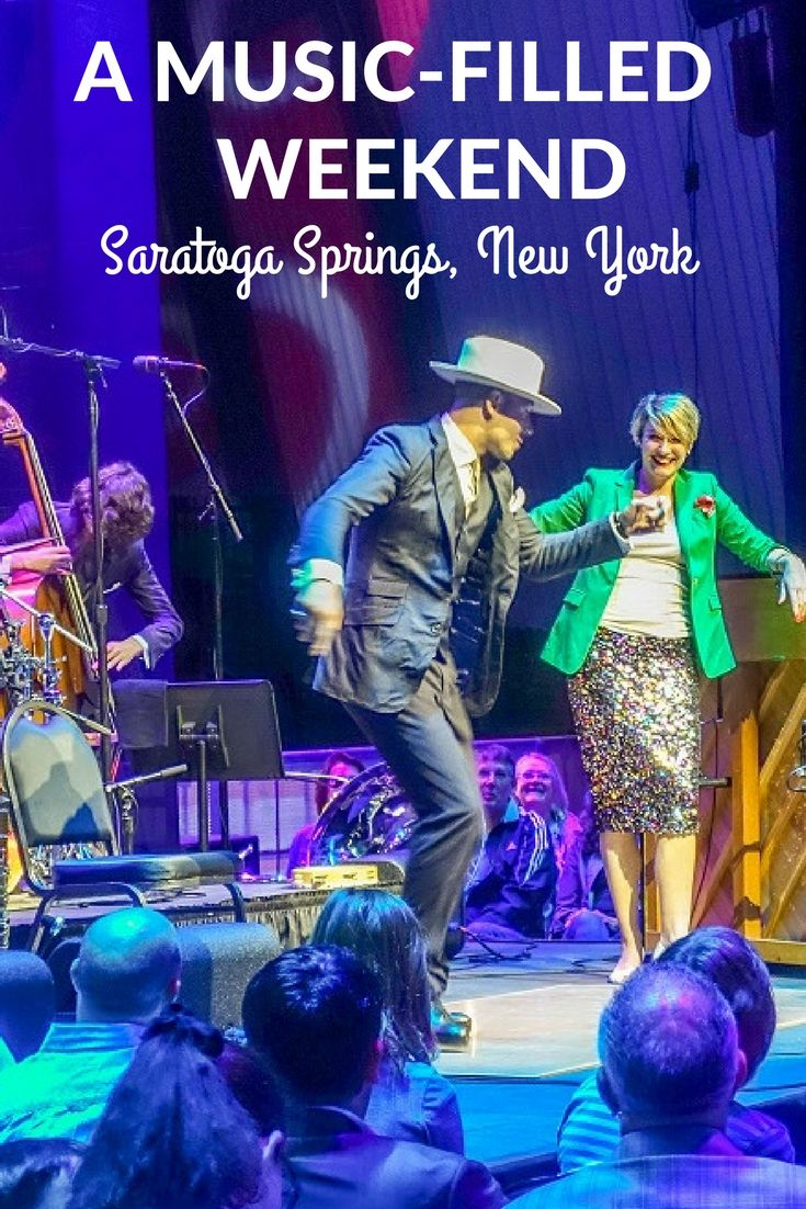 The Saratoga Performing Arts Center in Saratoga Springs, New York, goes way beyond classical, featuring every music genre and events for all ages.