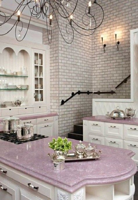 Exceptionnel ComfyDwelling.com » Blog Archive » 40 Cute Feminine Kitchen Design Ideas
