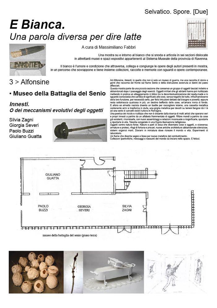 Alfonsine/Museo della Battaglia del Senio/Innesti. O dei meccanismi evolutivi degli oggetti