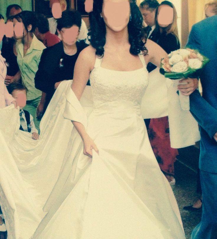 ♥ hochwertiges Brautkleid Hochzeitskleid Gr. S + Zubehör Neckholder Bandeau Perlen Stickerei ♥  Ansehen: http://www.brautboerse.de/?post_type=listing_type&p=44948   #Brautkleider #Hochzeit #Wedding