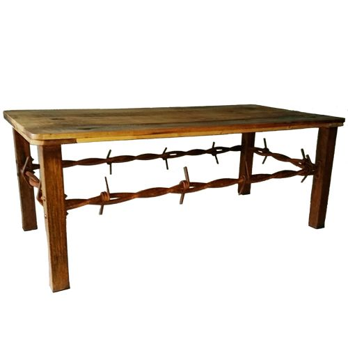 ... A Natural Rustic Finish With Clear Coat Sealer. Great Indoors And Out,  These Tables Are Functional And Decorative With An Aged And Antiqued Wood  Top!