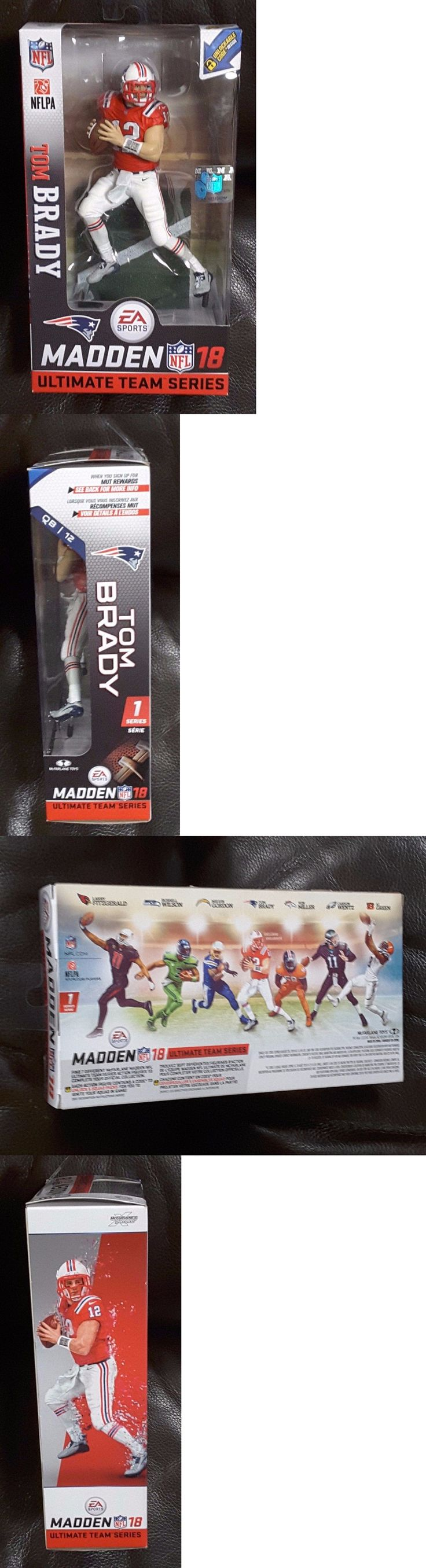 Sports 754: Tom Brady - Mcfarlane Madden 18 Ultimate Team Series 1 - Near Mint -> BUY IT NOW ONLY: $37.68 on eBay!