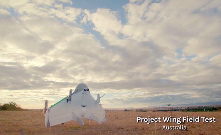 Google dépose un brevet pour un réceptacle de drones