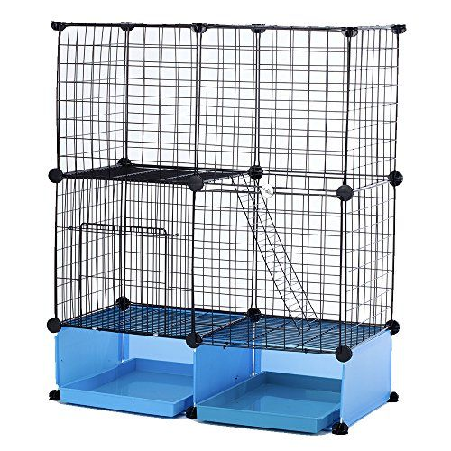 Modular AddUp Small Cat Kitten Small Dog Puppy Cage Playpen Blue Basic *** This is an Amazon Affiliate link. You can get more details by clicking on the image.