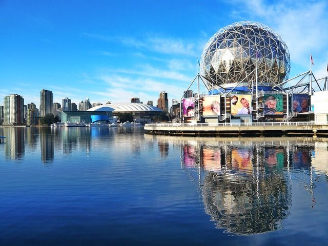 Share from UPLO: Science World And Bc Stadium by Stone River