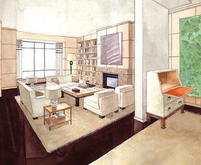 Luxury Interior Design Renderings