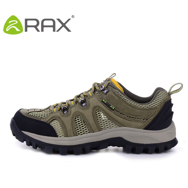 2016 Rax Breathable Outdoor Hiking Shoes Men Lightweight Climing Walking Trekking Shoes For Men Outdoor Sport Summer Senderismo