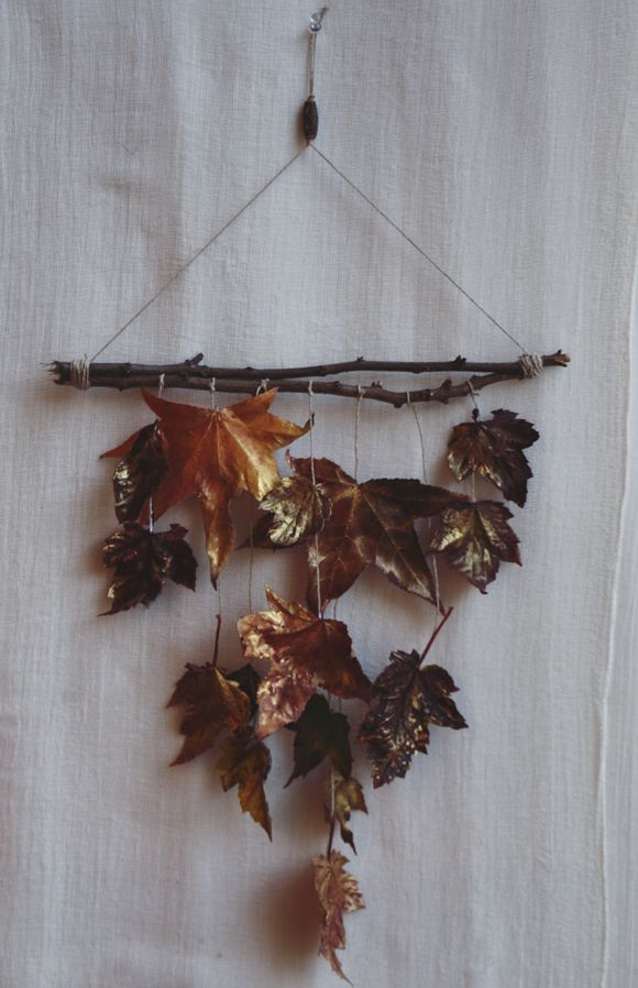 Decorating With Fall Foliage | Free People Blog #freepeople
