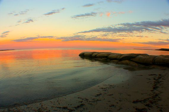 Sunset At Victor Harbour in South Australia