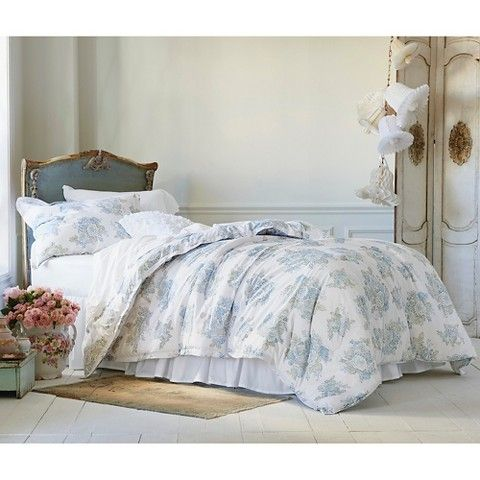 Simply Shabby Chic® Cool Floral Print Comforter Set