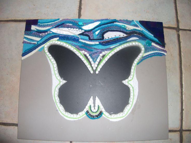 vlinder andere materialen