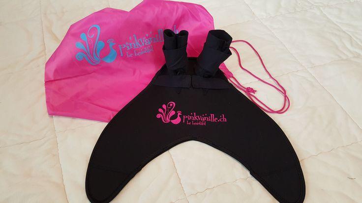 Pinkvanille Meerjungfrauenflosse Monoflosse Meerjungfrauenflossen Mermaiding Nixenflosse
