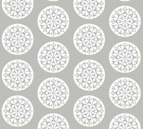 Paris in a Kaleidoscope fabric by biancagreen on Spoonflower - custom fabric