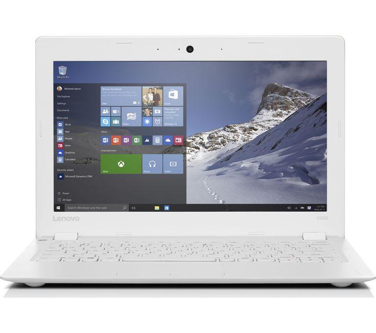 Lenovo IdeaPad 100S 11.6 Laptop - WhiteLenovo IdeaPad 100s-11