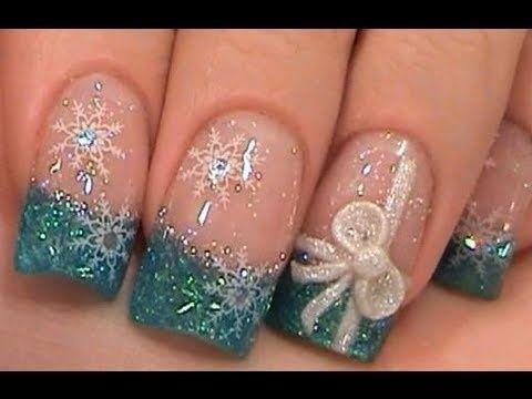 Christmas nails by DeeDeeBean