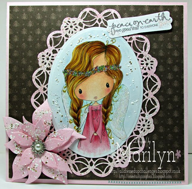 One Stamping Fool All Dressed Up digi stamps