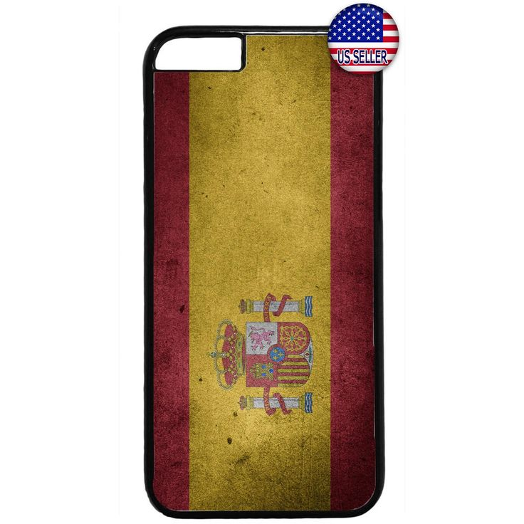 Spain Flag Spanish Pride Rubber Case Cover For Iphone