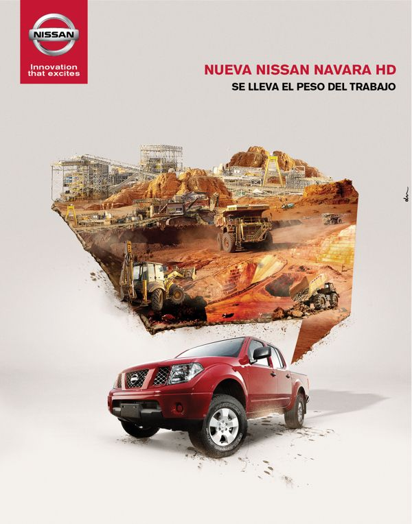 Nissan ads sketch on Behance