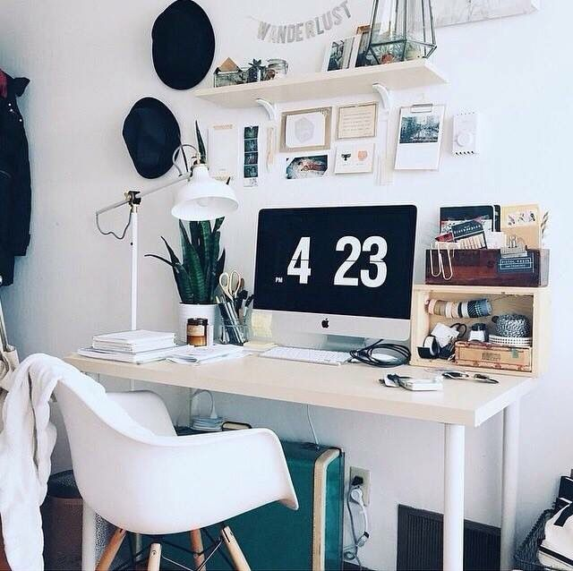 61 mejores im genes sobre habitaci n tumblr en pinterest for Recamaras con escritorio