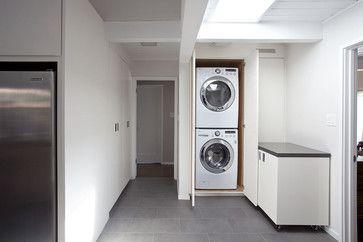 Eichler Laundry Room - Midcentury - Laundry Room - San Francisco - Kyle Chesser