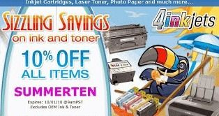 4inkjets discount printer supplies are becoming a new trend for online printers with many of offering 4inkjets coupon 20% off codes for tons of savings and big discounts. 4inkjets discount printer supplies are applicable for HP, Canon and Xerox etc. Many of our customers has benefited by 4inkjets coupon codes. Thus the 4inkjets discount printer supplies review is outstanding also the 4inkjets coupon free shipping is available for all orders over $50.
