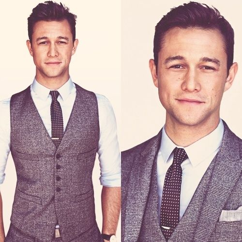 An outfit inspired by Joseph Gordon-Levitt. Smooth. Simple. Clean. Perfect.