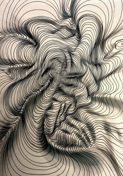 Drawing Lines Ks : Best cross contour lines images on pinterest line