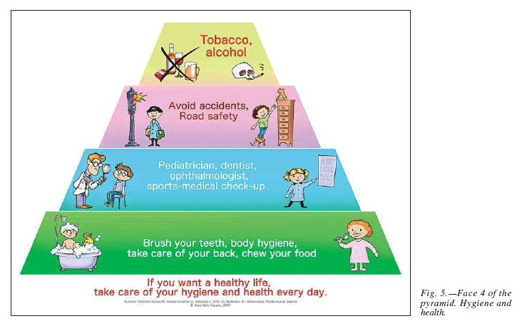 Hygiene and Health pyramid