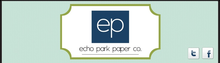 so far I have loved everything I have seen of Echo Park--colors/patterns are all great paper and fun to work with!