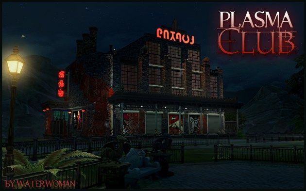 Plasma Club by Waterwoman at Akisima • Sims 4 Updates