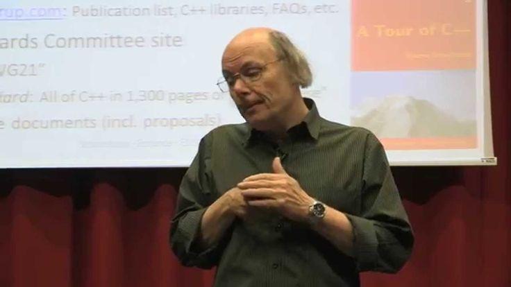 Bjarne Stroustrup - The Essence of C++