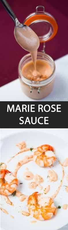 Marie Rose Sauce - {NEW RECIPE} This Marie Rose sauce recipe is high versatile and can be matched with prawns, lobster, smoked salmon, seafood, vegetable crudités, burgers and even chips!