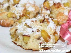Персиковое печенье